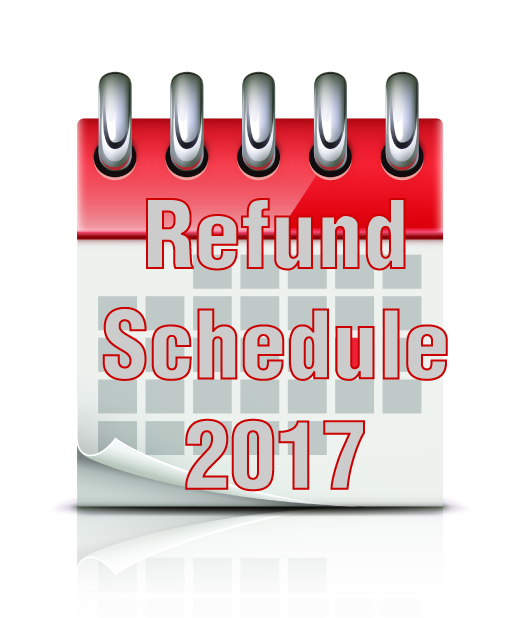 2017 refund cycle chart and 2017 refund calculator now available online refund status. Black Bedroom Furniture Sets. Home Design Ideas